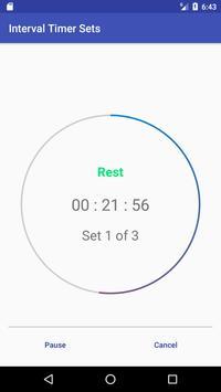 Interval Timer Sets screenshot 1
