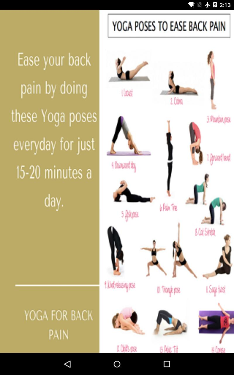 Lower Back Pain With Yoga