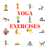 YOGA EXERCISES - FOR ALL PARTS OF YOUR BODY icon