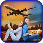 Airplane Frame Photo Editor - Blend Me Collage icon