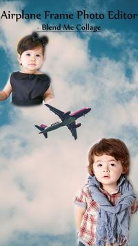 Airplane Frame Photo Editor - Blend Me Collage screenshot 1
