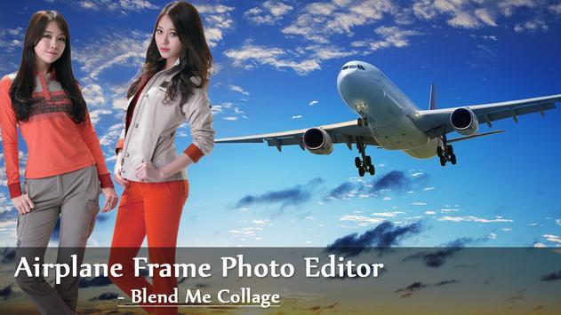 Airplane Frame Photo Editor - Blend Me Collage screenshot 4