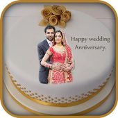Anniversary Cake Frame Photo Editor Blend Me For Android Apk