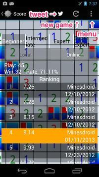 Minesdroid (Minesweeper) apk screenshot