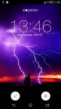 Thunder Storm Yo Locker HD apk screenshot