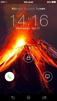 Volcano Yo Locker HD screenshot 1