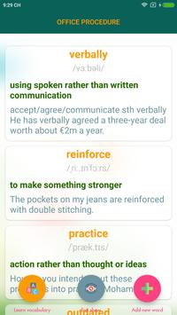 english vocabulary learning screenshot 2
