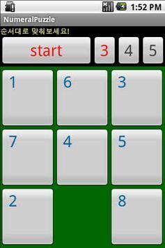 NumeralPuzzle screenshot 1
