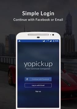 Yopickup - Instant Ridesharing poster