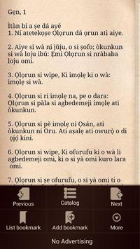 Yoruba Bible screenshot 2