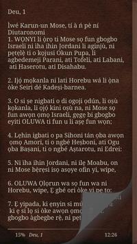 Yoruba Bible screenshot 3