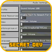 Secret Dev Edition Mod MCPE icon