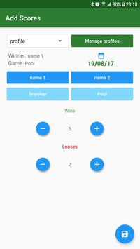 Snooker Scores apk screenshot