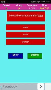 इंग्लिश जनरल नॉलेज टेस्ट  -English Quiz apk screenshot