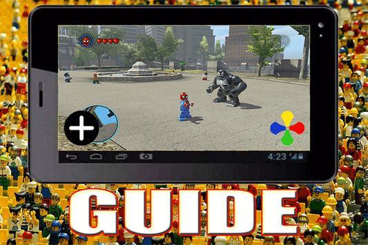 Guide for LEGO MARVEL SupeHero poster