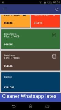Cleaner-Whatsapp (New Version) apk screenshot
