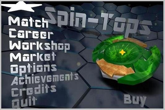 GUIDE SPIN BLADE TOPS screenshot 2