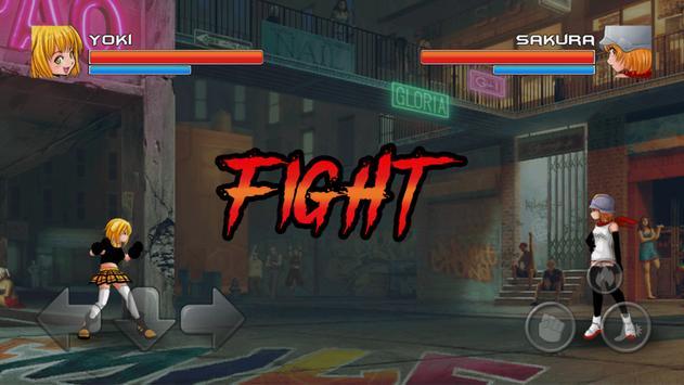 Yandere Girl- Schoolgirl Fight poster