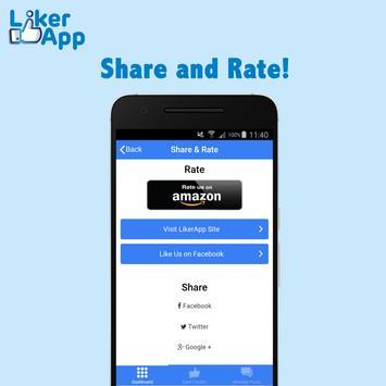 Liker App screenshot 4