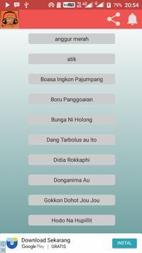 Boru Panggoaran Batak Sai Anju Ma Au Ulos Hela Mp3 apk screenshot
