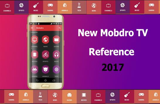 Free Mobdro TV 2017 Tutor poster