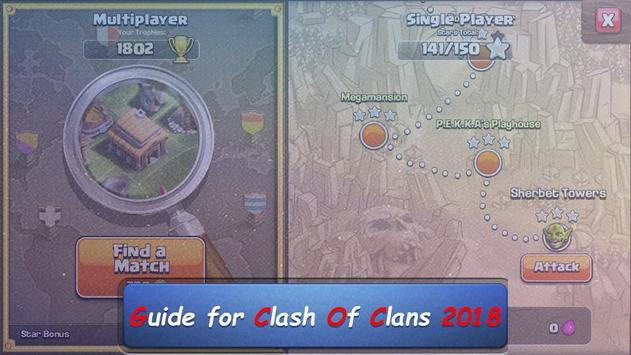 Guide for clash of clans 2018 screenshot 2