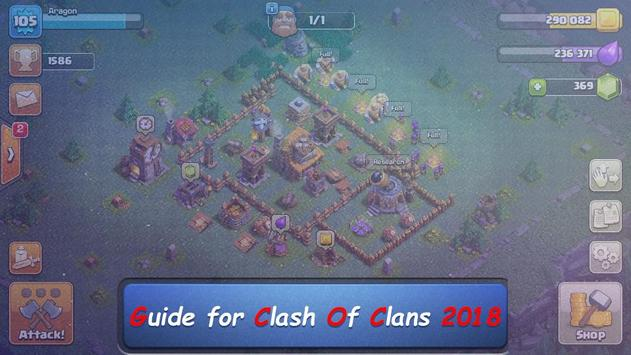 Guide for clash of clans 2018 screenshot 3