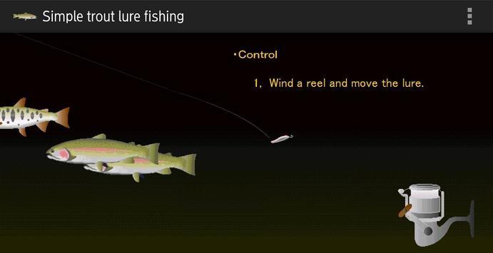 Trout lure fishing screenshot 5