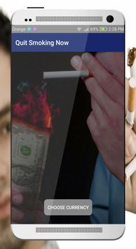 Quit smoking Now poster