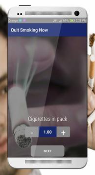 Quit smoking Now screenshot 2