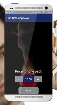 Quit smoking Now screenshot 3