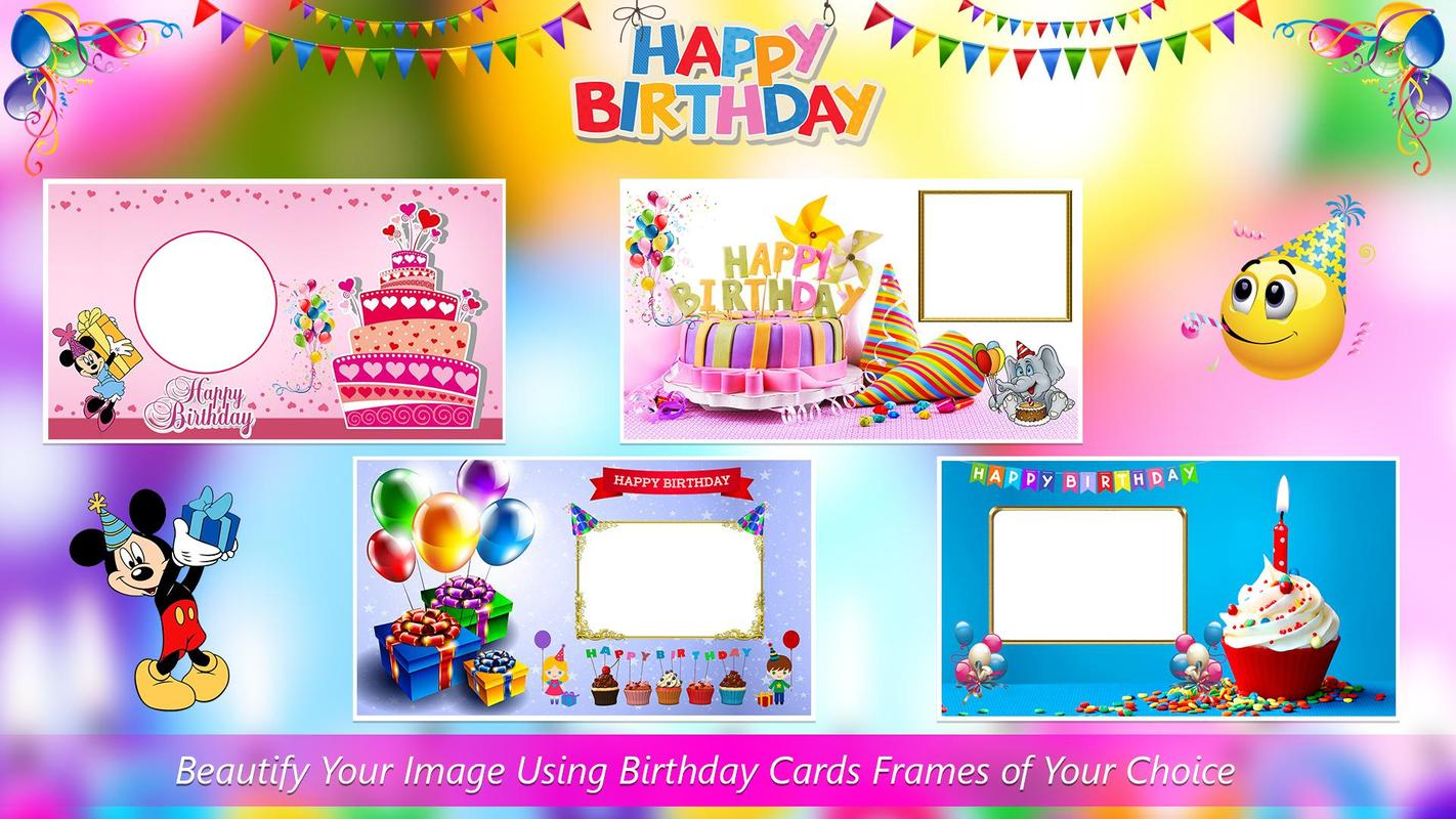 Birthday Card Photo Frames Apk
