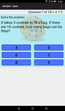 MCQUIZ - Math screenshot 8