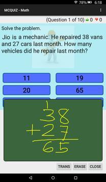 MCQUIZ - Math screenshot 9