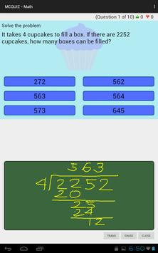 MCQUIZ - Math screenshot 5