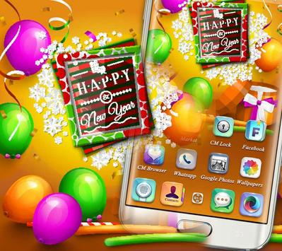 New Year Party Theme screenshot 2