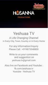 Yeshuaa poster
