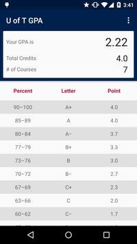 UofT GPA Calculator screenshot 3