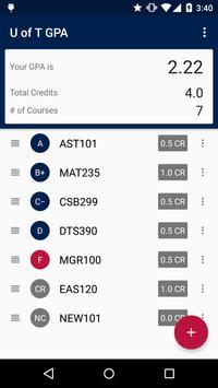UofT GPA Calculator screenshot 2
