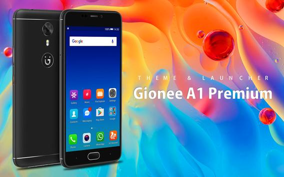 Theme for Gionee A1 Premium poster