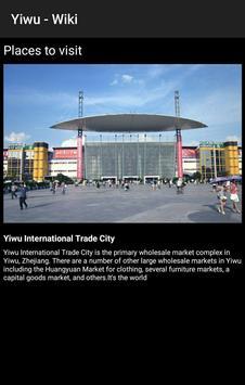 Yiwu - Wiki screenshot 3
