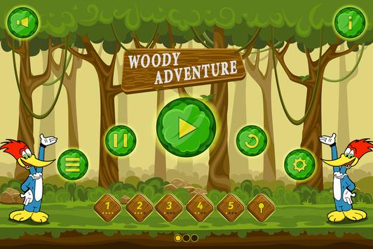 wody advenures woodpecker run screenshot 2