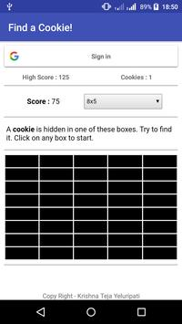 Find a Cookie! poster