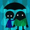 ひそか -雨の日トークアプリ - アイコン