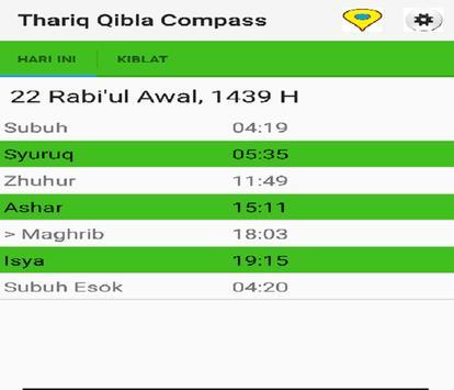 Thariq Qibla Compass screenshot 7