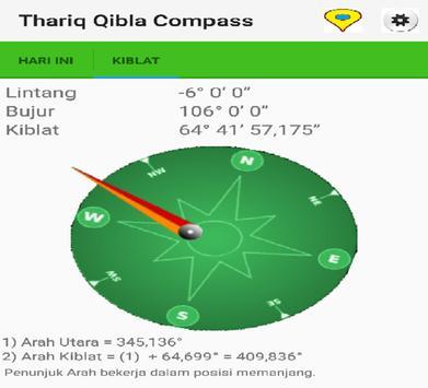 Thariq Qibla Compass screenshot 9