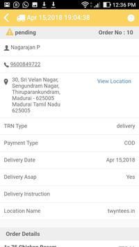 YummyMadurai - Order Taking App screenshot 3