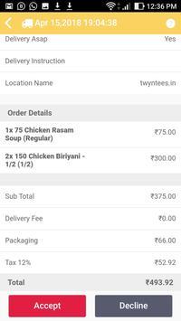 YummyMadurai - Order Taking App screenshot 4