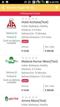 YummyMadurai - Food Order & Delivery screenshot 2
