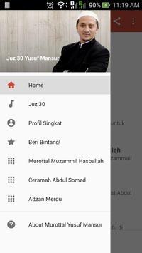 Murottal Yusuf Mansyur Offline MP3 poster